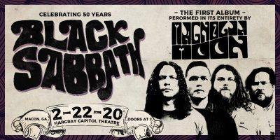 Magnolia Moon plays Black Sabbath