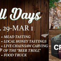 Troll Days: Mead Tasting & Live Chainsaw Carving