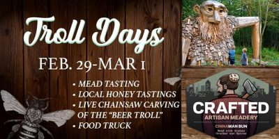 Troll Days: Mead Tasting & Live Chainsaw Carvi...