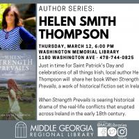 Author Series: Helen Smith Thompson