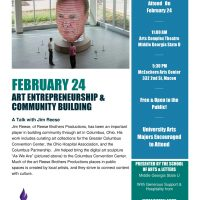 Art Entrepreneurship and Community Building - A Talk with Jim Reese
