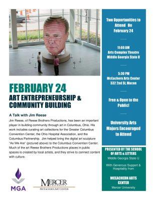 Art Entrepreneurship and Community Building - A Ta...