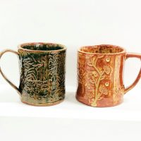 March Textured Mug Class