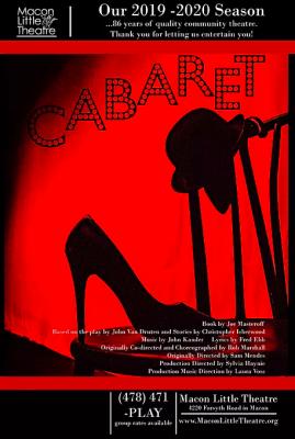 Cabaret at Macon Little Theatre