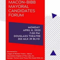 Macon-Bibb Mayoral Candidates Forum
