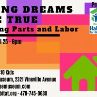 Postponed - Macon Habitat and The Big House present Making Dreams Come True 2020