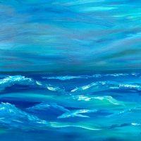 Ocean Paint Class - Virtual Event