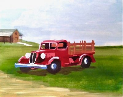 Farm Truck Paint Class - Virtual Event