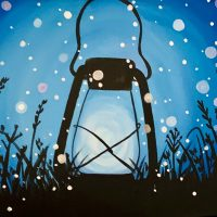 Lantern Paint Class - Virtual Event