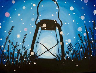 Lantern Paint Class - Virtual Event