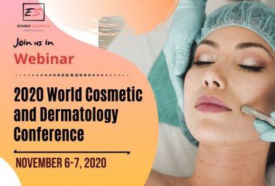 Live Webinar on 2020 World Cosmetic and Dermatolog...