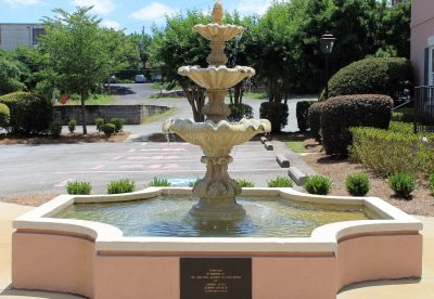 Mr. And Mrs. Martin Smith Memorial Fountain