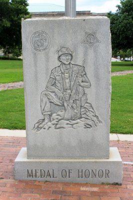 Sergeant Rodney M. Davis Memorial Monument