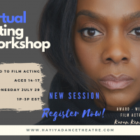 Free Virtual Acting Workshop: Session 2