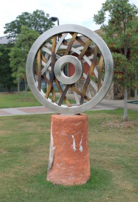 Wheel Sculpture