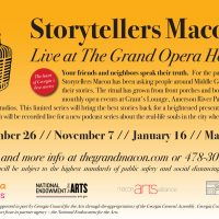 Storytellers Macon Live at The Grand Opera House: Macon Magic