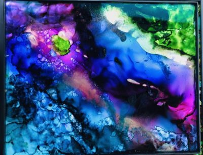 Fired Alcohol Inks Workshop