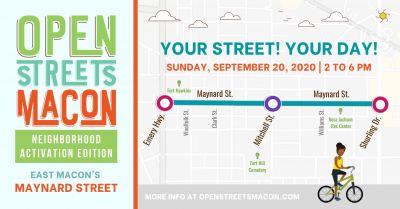 Open Streets Macon: Maynard Street