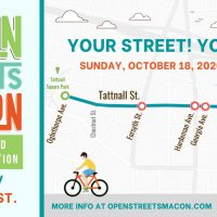 Open Streets Macon: Monroe/Tattnall Street