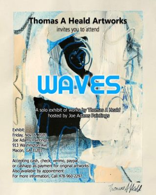Waves: Work by Thomas Heald
