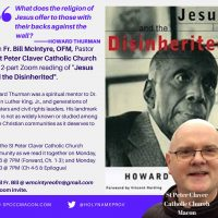 """Community Reading of """"Jesus and the Disinherited"""""""