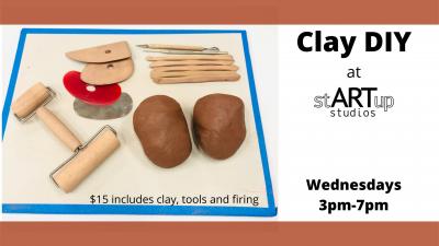 Clay DIY at stARTup Studios