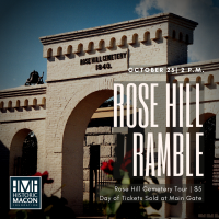 Rose Hill Ramble: Cemetery Tour