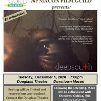 """SPECIAL EVENT: In Honor of World AIDS Day, Macon Film Guild Presents """"deepsouth"""""""
