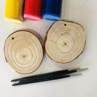 Painting DIY - Wood Slice