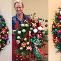 Pop-Up Shop and Wreath Demonstration with Artist Mark Ballard at Society Garden