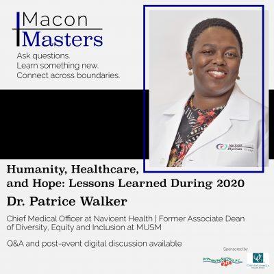 Macon Masters: Patrice Walker (Health)