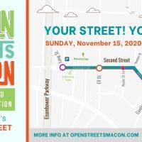 Open Streets Macon: Second Street