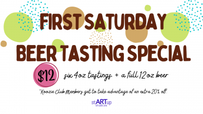 First Saturday Beer Tasting Special
