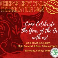 Chinese New Year Celebration 2021 - virtual