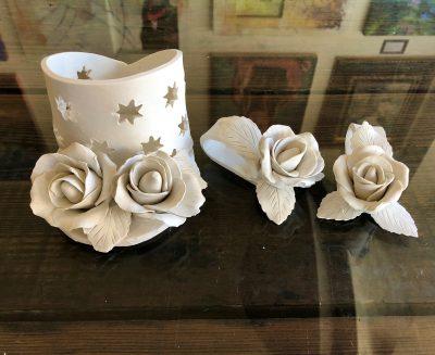 Valentine's Clay Flowers Workshop