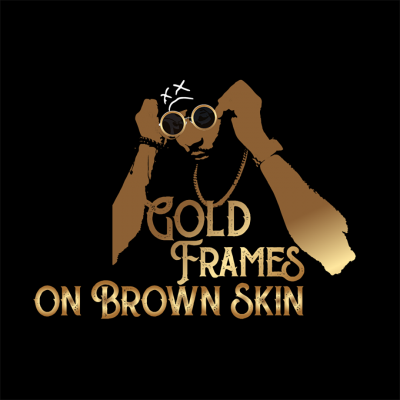 Gold Frames On Brown Skin
