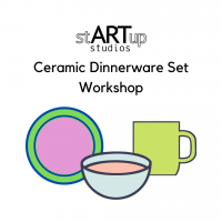Ceramic Dinnerware Set Workshop (Thursdays)