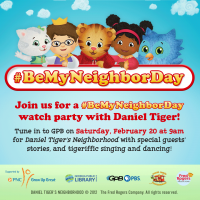 Be My Neighbor Day Featuring Daniel Tiger