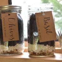 Herb Garden in a Jar Workshop