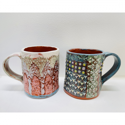 April 10th Textured Mug Class