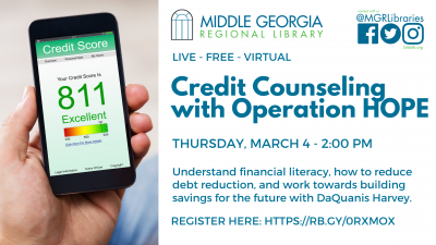 Credit Counseling with Operation HOPE