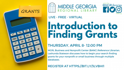 Introduction to Finding Grants