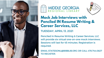 Penciled IN Resume & Writing LLC Virtual Mock Interviews