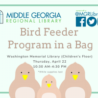 Bird Feeder Program in a Bag