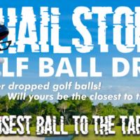 Hailstorm Golf Ball Drop