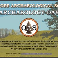 16th Annual Fort Hawkins Archaeology Day