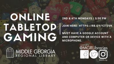 Online Tabletop Gaming