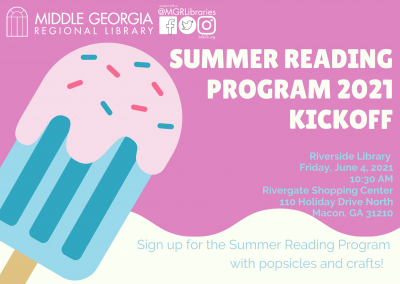 Riverside Summer Reading Program Kickoff