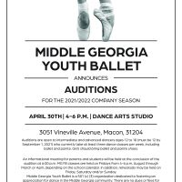 Middle Georgia Youth Ballet Auditions