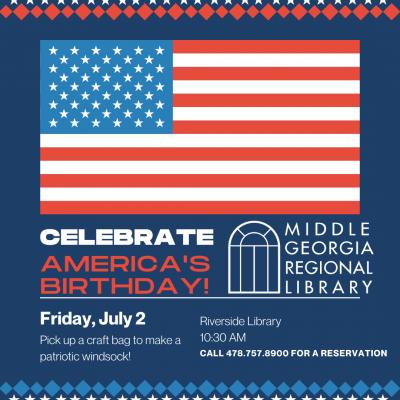 Riverside Library Celebrates America's Birthday